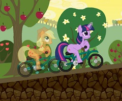 My Little Pony Bike Race