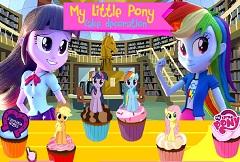 MY LITTLE PONY CAKE DECORATION - MY LITTLE PONY GAMES