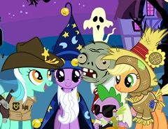 My Little Pony Halloween Hidden Objects