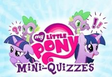 My Little Pony Mini Quizzes
