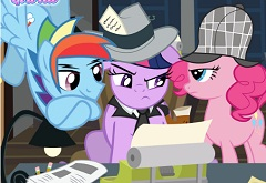 my little pony news room my little pony games