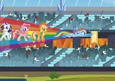 My Little Pony Rainbow Dash Equestria Race