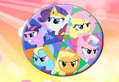 My Little Pony Round Puzzle