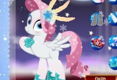 My Little Pony Winter Dress…