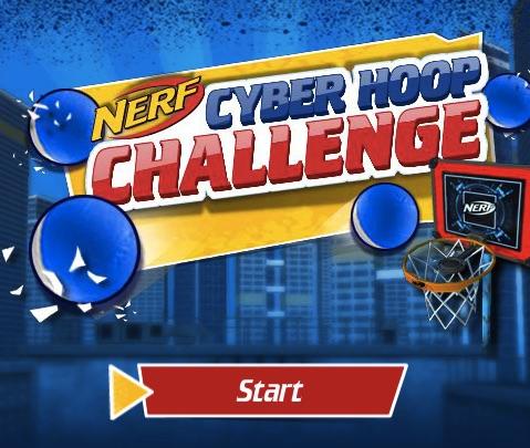 Nerf Blasters Basketball
