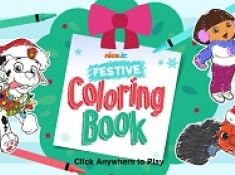Nickelodeon Festive Coloring Book 2