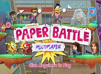 Nickelodeon Paper Battle Multiplayer
