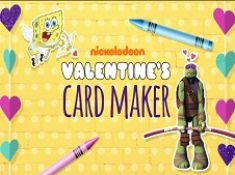 Nickelodeon Valentines Card Maker