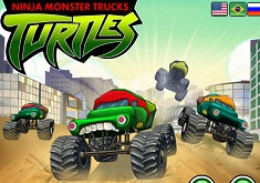 Ninja Monster Truck Turtles