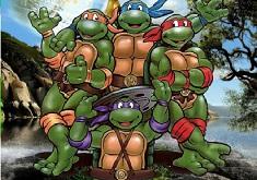 Ninja Turtle Cartoon Puzzle