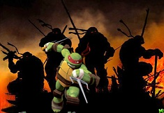 Ninja Turtles Kick up