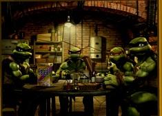 Ninja Turtles Puzzle Mania