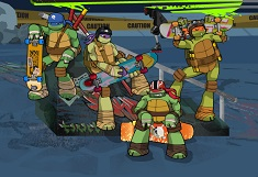 Ninja Turtles Skateboard Adventure