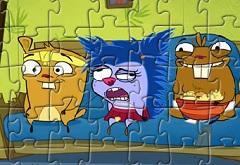 Numb Chucks Characters Puzzle