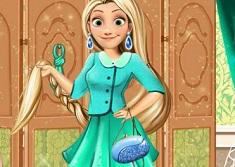 Office Style Rapunzel