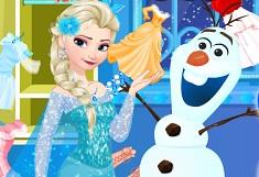 Olaf Damages Elsas Closet
