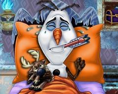 Olaf Flu Doctor