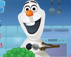 Olaf Making Sea Turtle Ice Cream
