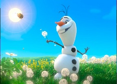 Olaf on the Field Puzzle