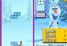 Olaf Winter Tetris