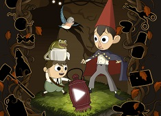 Over the Garden Wall Dark Maze