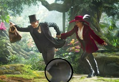 Oz the Great and Powerful Hidden Letters