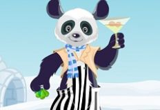 Panda Lounger Dress Up
