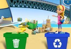 Paw Patrol Beach Cleaning
