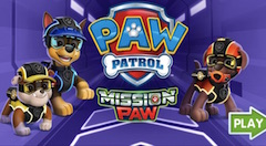 Jogo Paw Patrol Mission Paw Online Gratis