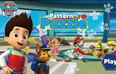Paw Patrol Puzzle Pattern