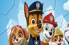 Paw Patrol Spin Puzzle