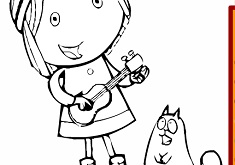Cat Coloring Pages For S Interesting Peg And