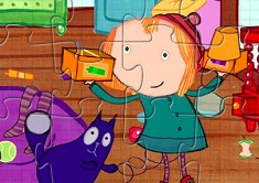 Peg and Cat Puzzle 2