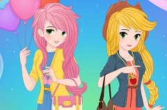 Pegasisters BFF Dress up