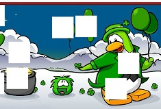 Penguin Club St Patrick Day Puzzle