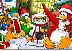 Penguins Christmas Puzzle