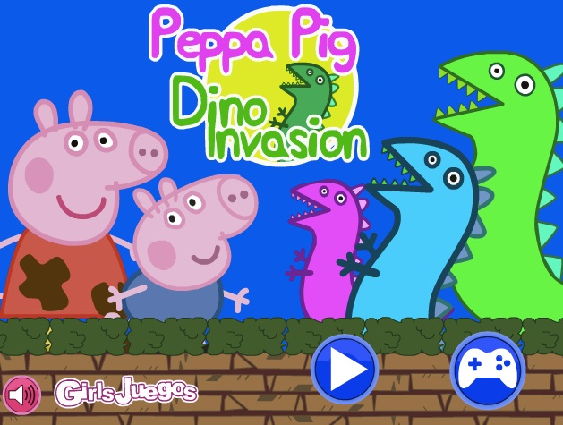 Peppa Dinosaur Invasion