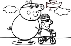 Peppa Pig Bike Ride