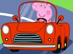 Peppa Pig Car Puzzle
