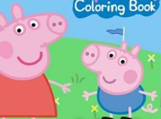 Peppa Pig Coloring Book