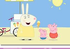 Peppa Pig Ice Cream Puzzle