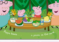 Peppa Pig Picnic Puzzle