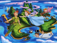 Peter Pan Flying Puzzle