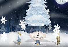 Peter Rabbit Snow Flakes