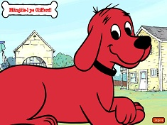 Petting Clifford