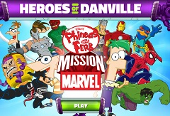 Phineas and Ferb Heroes of Danvile