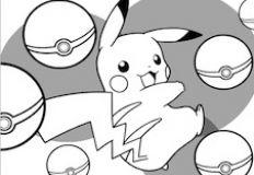Pikachu Coloring