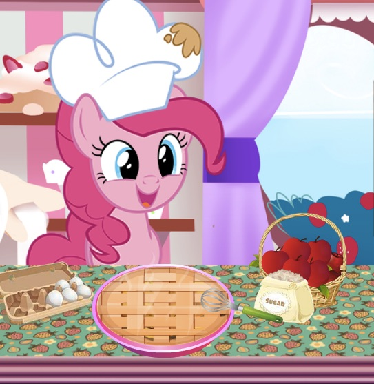 Pinkie Pie Apple Pie