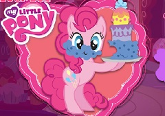Pinkie Pie at Sugarcube Corner