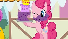 Pinkie Pie at the Market